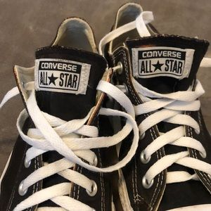 Converse All🌟Star  black/white  color sneakers